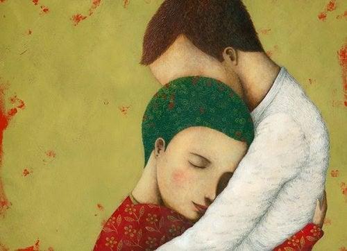 Zakochania, przepełnienie miłosć