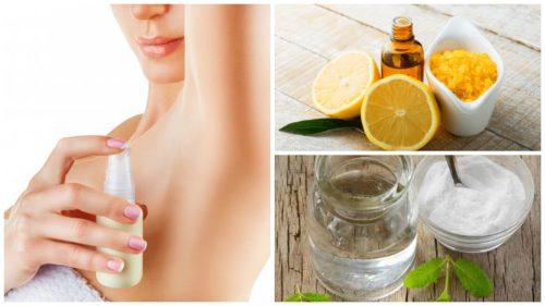 Dezodorant z naturalnych składników – jak go zrobić?