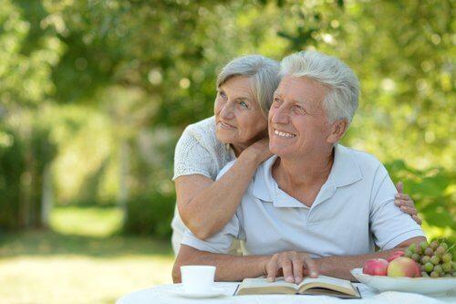 Starzenie sie dziadkowie