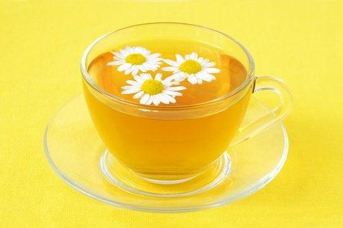Herbata rumiankowa na leczenie kolka niemowlęca