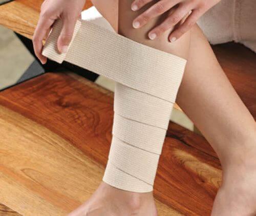 Bandażowanie żylaków nóg