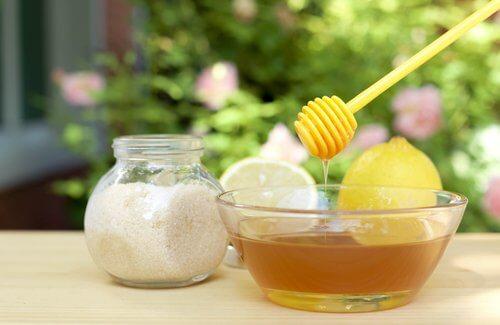 Miód i cytryna