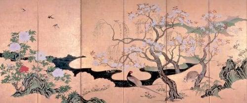 Japoński drzeworyt