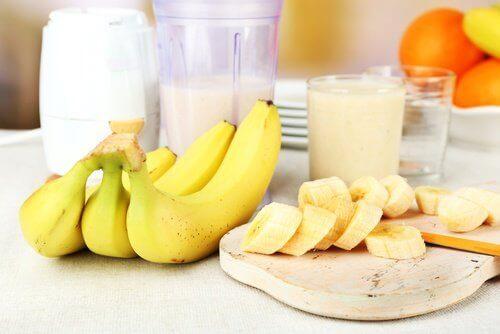 banan i mleko