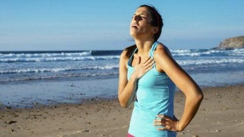 Problemy z oddychaniem