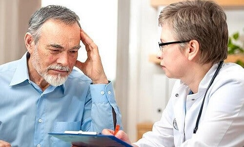 Rozmowa pacjenta z lekarzem