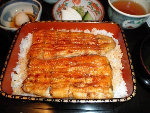Węgorz z ryżem
