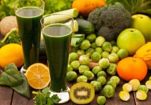 Warzywa i owoce w diecie oczyszczającej