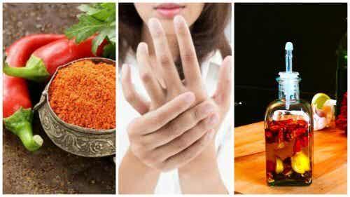 Bóle stawów - leczniczy olejek z pieprzu cayenne