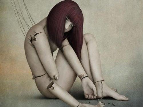 Kobieta - marionetka. Manipulacja