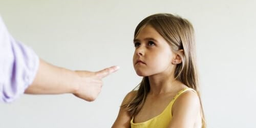 Krzyczenie na dziecko