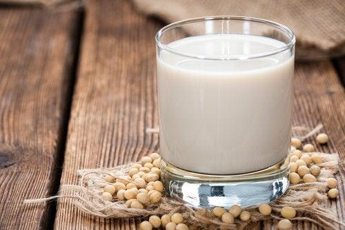 Mleko sojowe na duszności