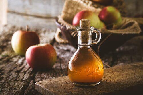 Ocet jabłkowy na pchły