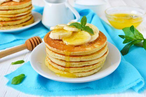 Placki bananowe idealne na śniadanie