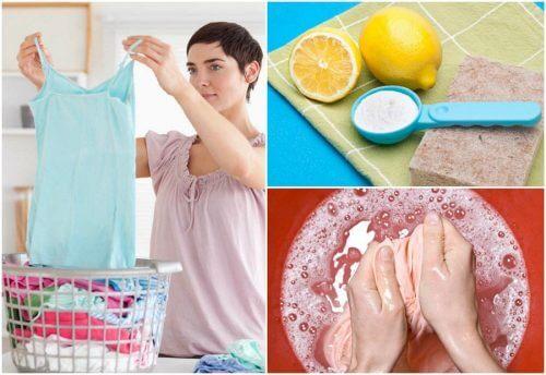 Plamy na ubraniach - 9 sposobów ich usuwania