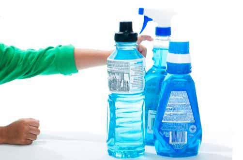 należy zawsze myć plastikowe pojemniki