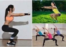 przysiady i 6 rodzajów ćwiczeń nóg w domu