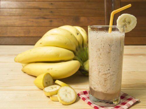 Smoothie z bananów