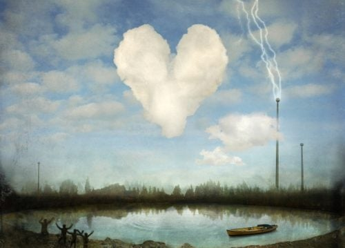 Chmura w kształcie serca, a Kochać bez zaborczości