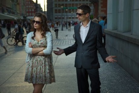 Kłótnia na ulicy a Toksyczny partner
