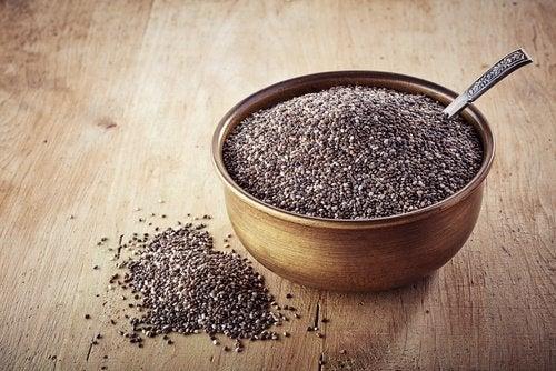 nasiona chia pokarmy zawierające omega 3