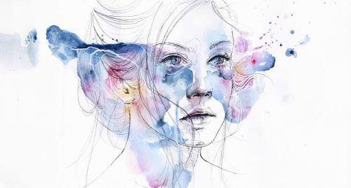 Portret kobiety smutnej a depresja