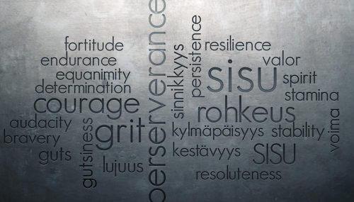 sisu - odwaga w obliczu trudności