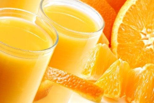 Smoothe pomarańczowe na pamięć