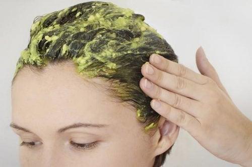Awokado i  maseczka na włosy