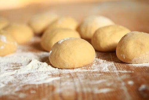 Bułki z białej mąki