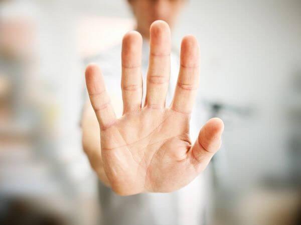Dłoń, stop, a nasza osobowość