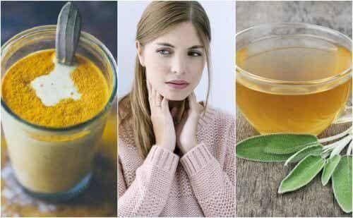 Podrażnione gardło – 6 naturalnych składników