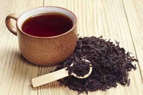 Herbata czarna na siwienie
