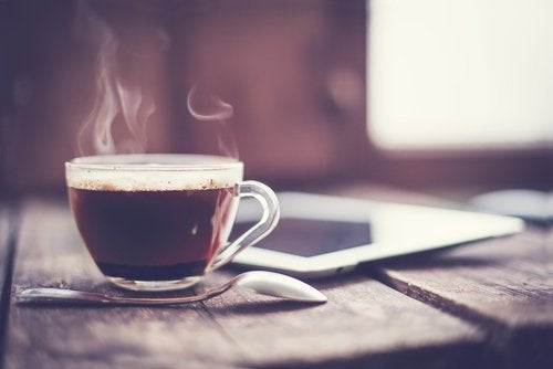 Kawa napój na śniadanie