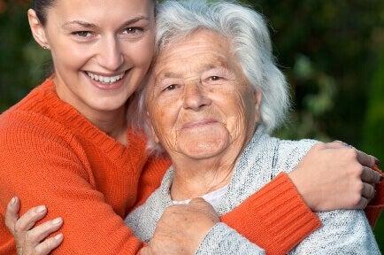 Kobieta i staruszka