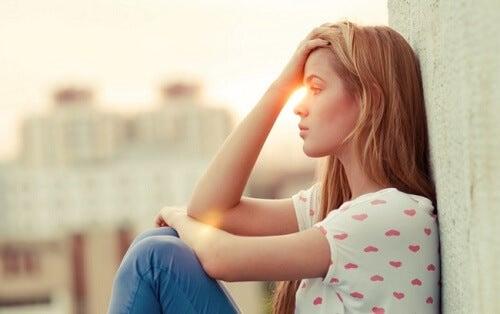 Kobieta - negatywne emocje