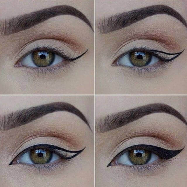 Kocie oko A eyeliner