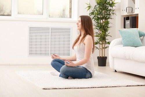 Medytacja, spokojny styl życia