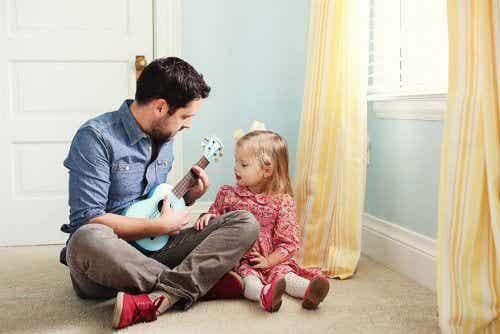 Dobry ojciec wychowa swą córkę na silną kobietę