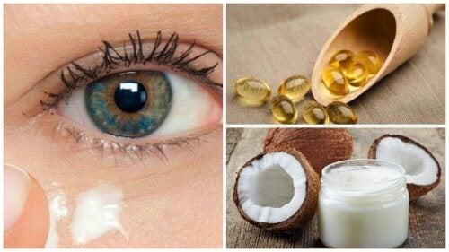 Okolice oczu – odmłodź je kremem z oleju kokosowego