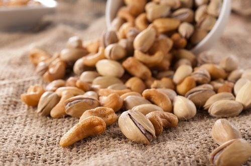 Orzeszki pistacjowe, orzechy