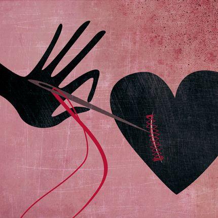 Szycie serca