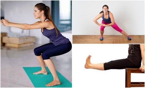 5 ćwiczeń na nogi, które wykonasz w domu