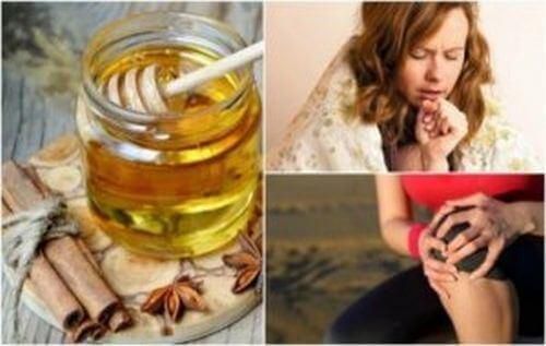 Cynamon i miód - 8 niezwykłych korzyści dla zdrowia