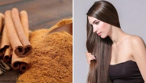 Cynamon na włosy – 4 maski na piękną fryzurę