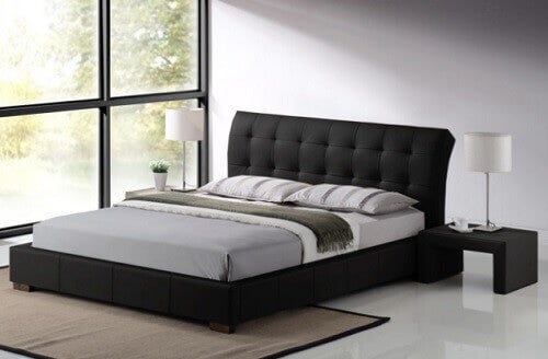 Czysta i schludna sypialnia