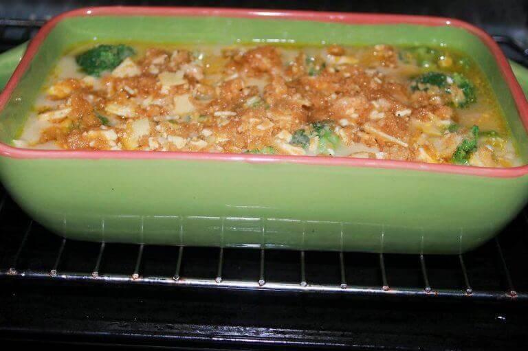 danie z piekarnika brokuły