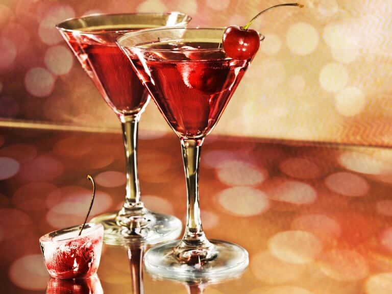 Drinki z alkoholem a uczucie zimna