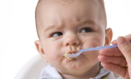 Dziecko je, sposób żywienia dziecka