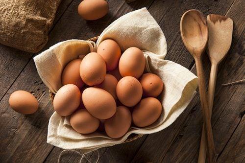 dobre tłuszcze w jajkach